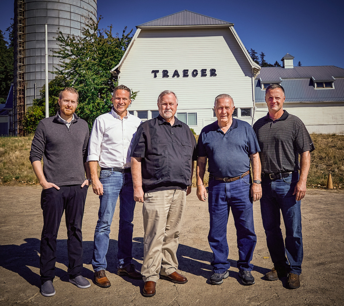 Joe Traeger joins Louisiana Grills