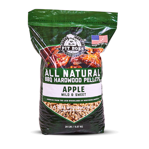 Pit Boss 20LB HARDWOOD PELLETS APPLE