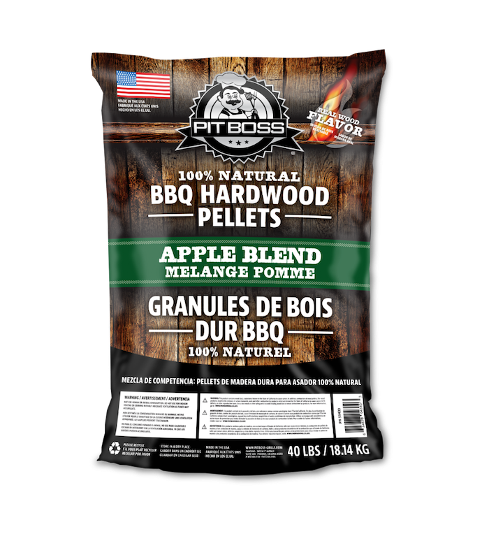 Pit Boss 40LB APPLE HARDWOOD PELLETS