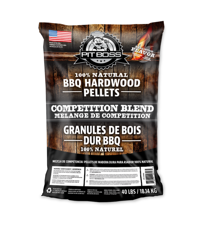 Pit Boss 40LB COMPETITION HARDWOOD PELLETS