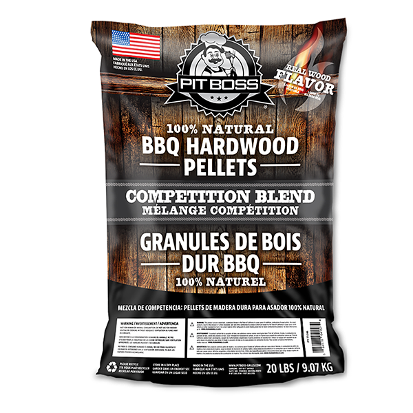 Pit Boss 20LB HARDWOOD PELLETS COMPETITION