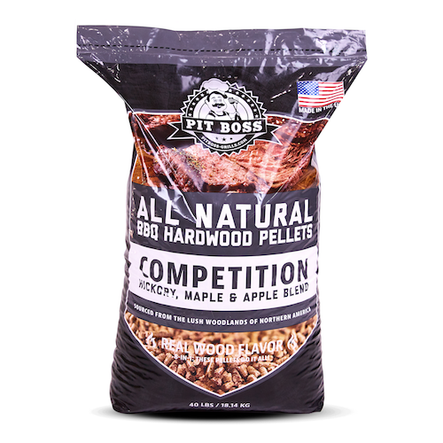 Pit Boss 40LB HARDWOOD PELLETS COMPETITION