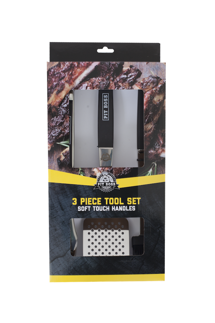 Pit Boss SOFT TOUCH 3 PIECE TOOL SET