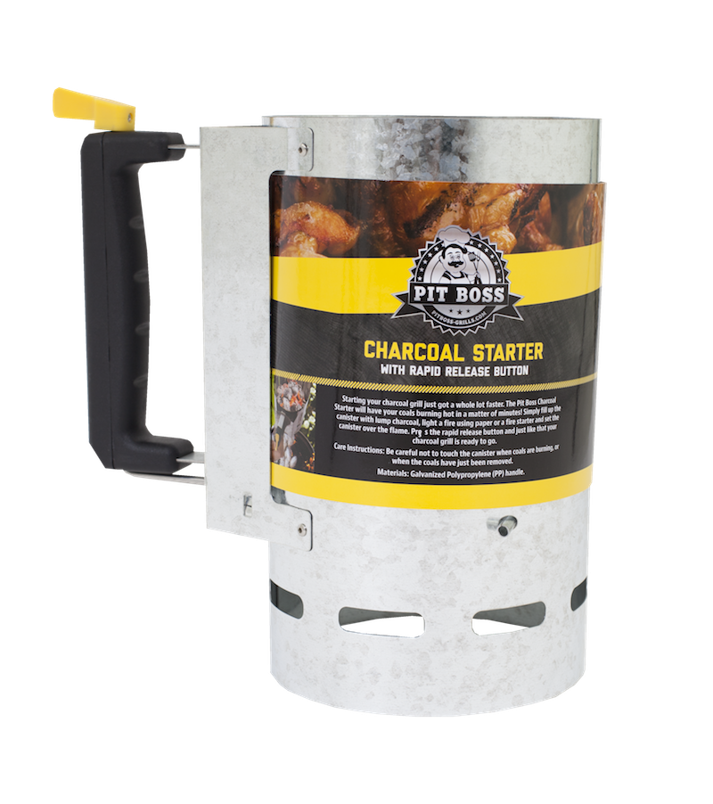 Pit Boss CHARCOAL STARTER WITH RAPID RELEASE BUTTON