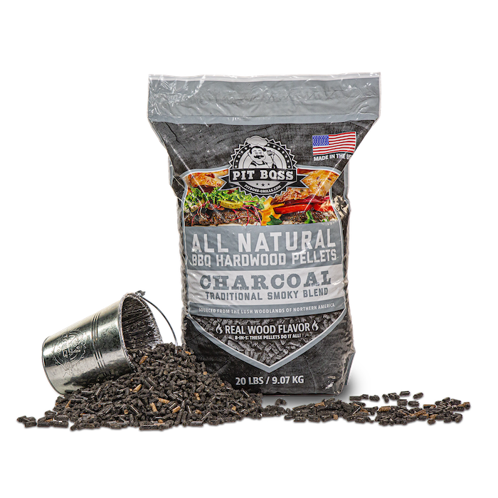 Pit Boss Charcoal Blend Hardwood Pellets, 20LB