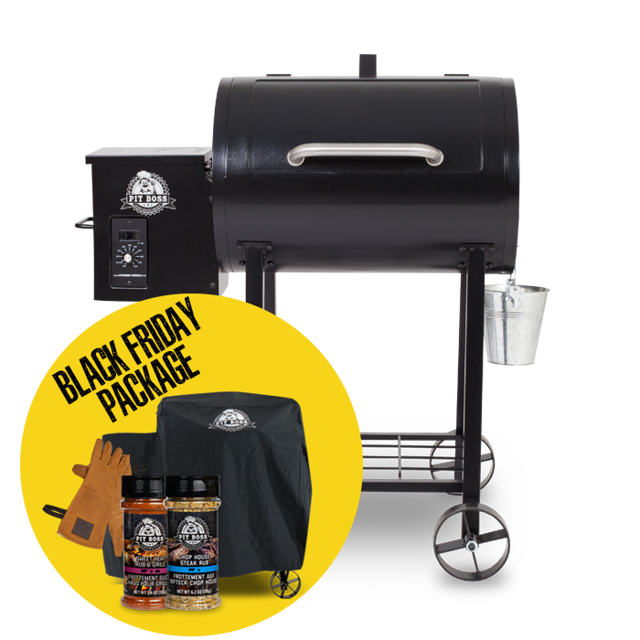 340 WOOD PELLET GRILL & ACCESSORIES PACKAGE