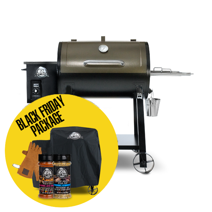 440 DELUXE WOOD PELLET GRILL & ACCESSORIES PACKAGE