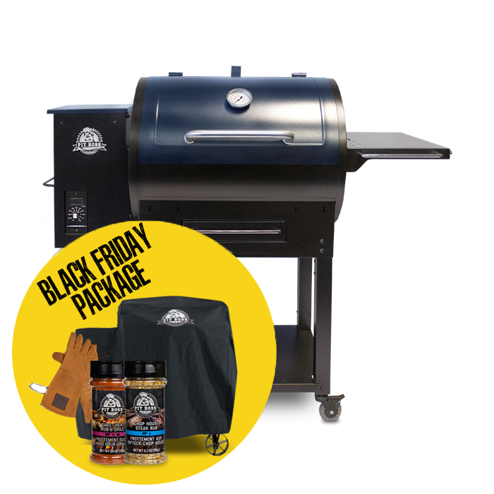 700S WOOD PELLET GRILL & ACCESSORIES PACKAGE