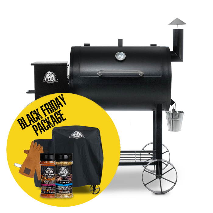 820 TRADITIONS WOOD PELLET GRILL & ACCESSORIES PACKAGE