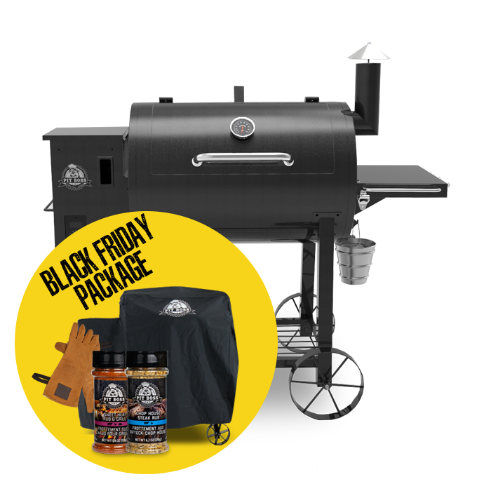 820 DELUXE WOOD PELLET GRILL & ACCESSORIES PACKAGE