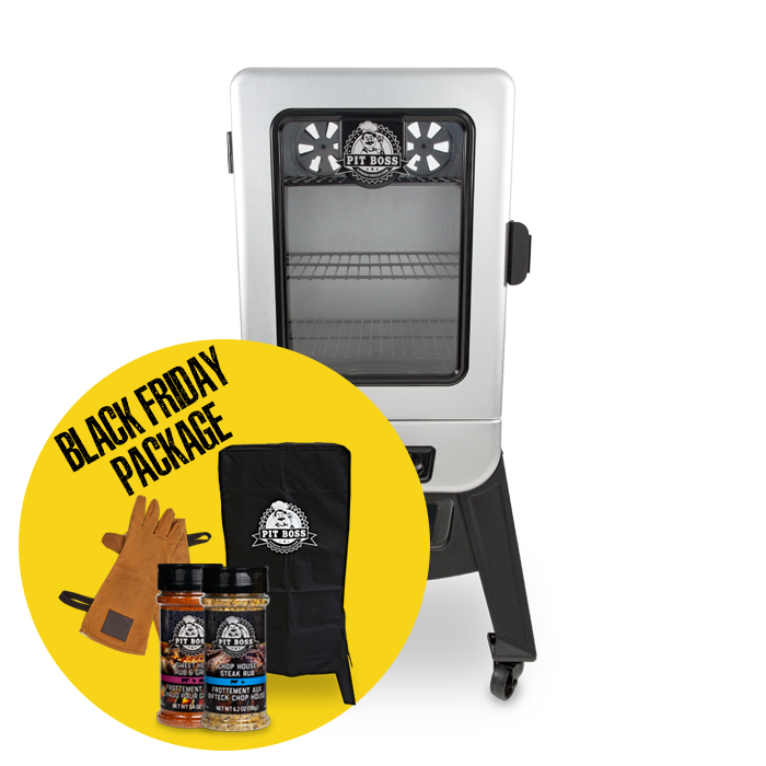 2-SERIES DIGITAL VERTICAL SMOKER & ACCESSORIES PACKAGE