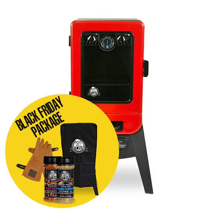 2-SERIES GAS VERTICAL SMOKER & ACCESSORIES PACKAGE
