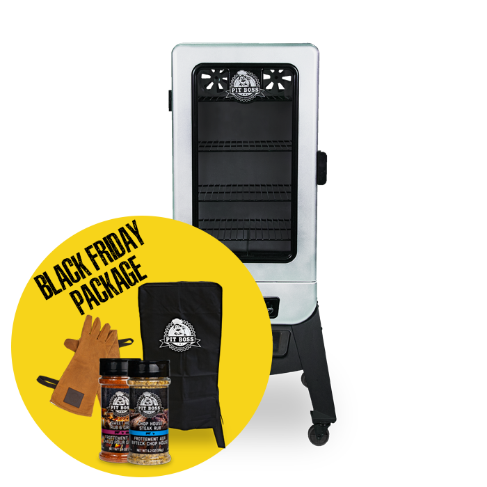 3-SERIES DIGITAL VERTICAL SMOKER & ACCESSORIES PACKAGE