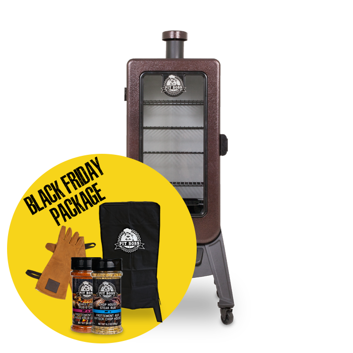 3-SERIES WOOD PELLET VERTICAL SMOKER & ACCESSORIES PACKAGE