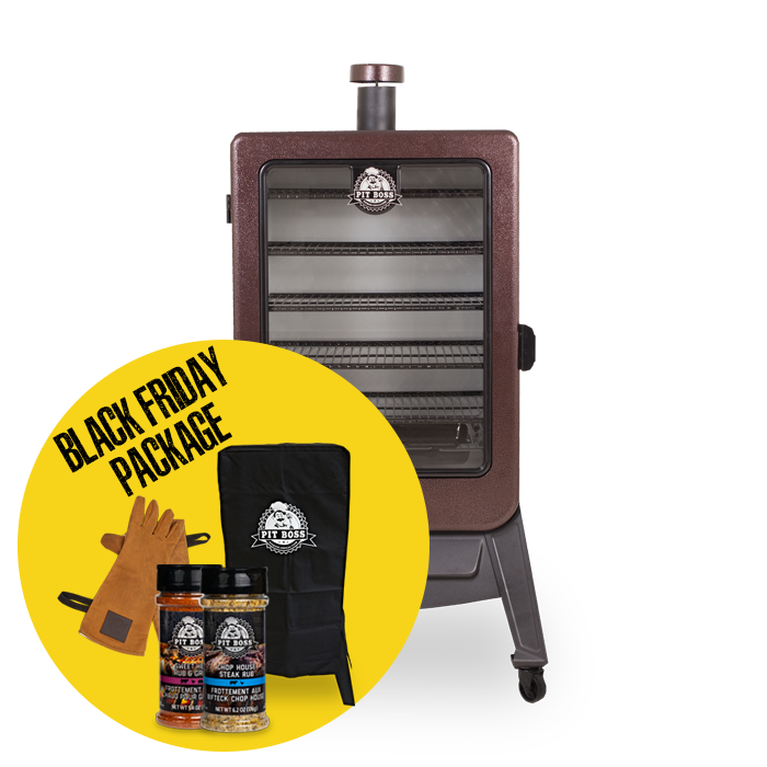 5-SERIES WOOD PELLET VERTICAL SMOKER & ACCESSORIES PACKAGE