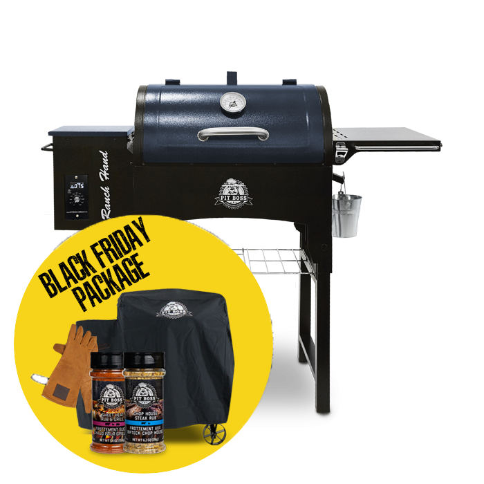 RANCH HAND WOOD PELLET GRILL & ACCESSORIES PACKAGE