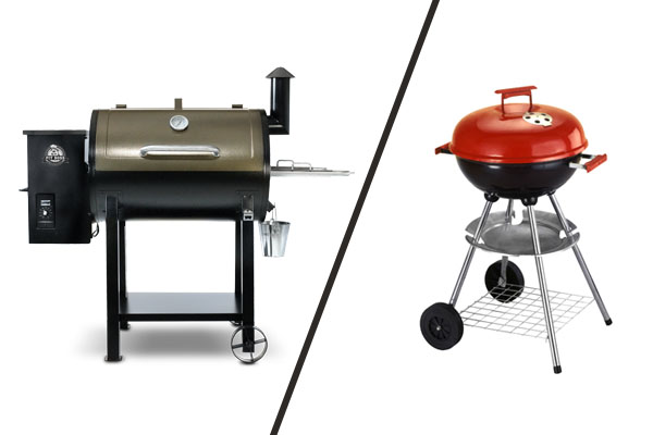 Pit Boss vs Charcoal Grill
