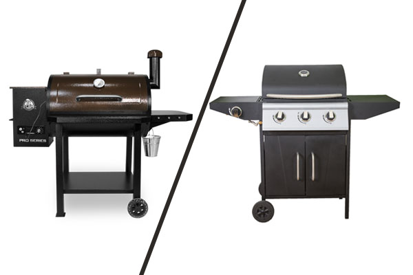Pitt Boss vs Gas Grill Image