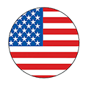united states flag for US website