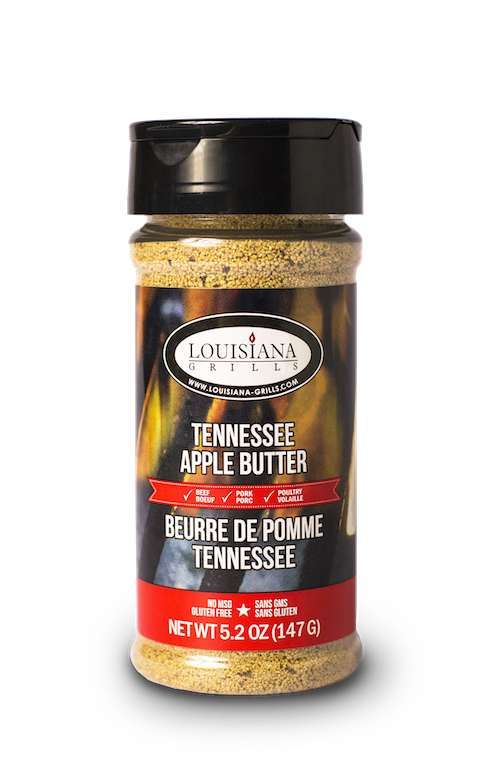 Louisiana Grills Spices & Rubs — 5 oz Tennessee Apple Butter