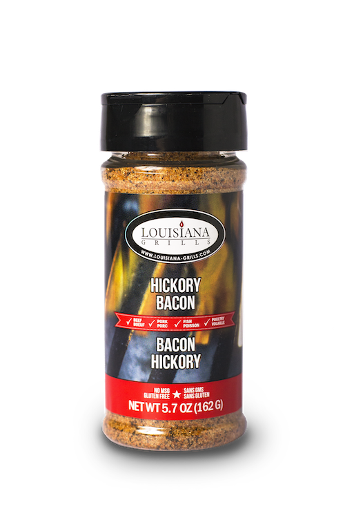 Louisiana Grills Spices & Rubs — 5 oz Hickory Bacon