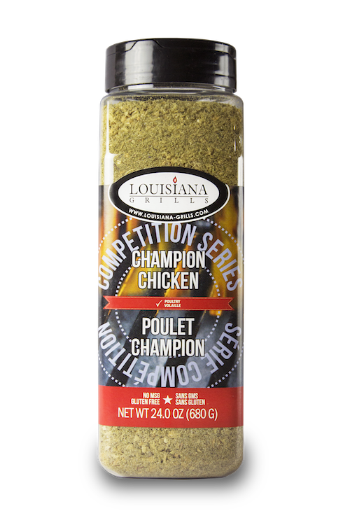 Louisiana Grills Spices & Rubs — 24 oz Champion Chicken