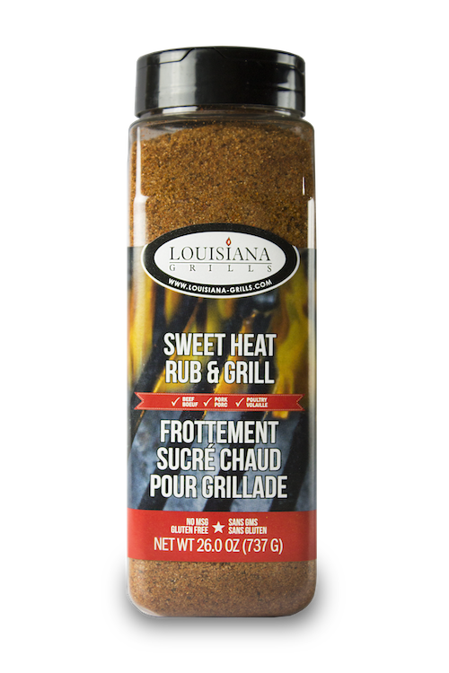 Louisiana Grills Spices & Rubs — 24 oz Sweet Heat Rub & Grill