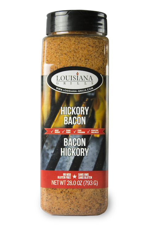 Louisiana Grills Spices & Rubs — 24 oz Hickory Bacon