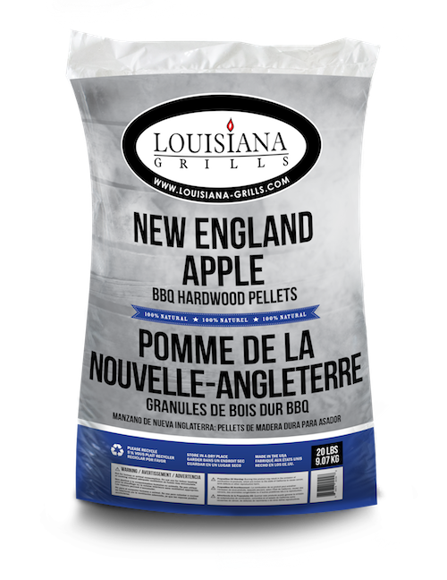 Louisiana Grills Pellets, 20lb, New England Apple
