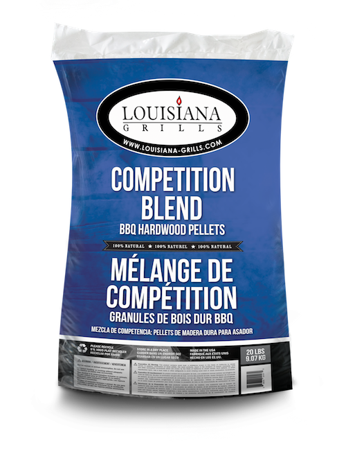 Louisiana Grills Pellets, 20lb, Competition Blend
