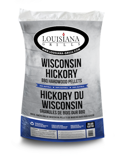 Louisiana Grills Pellets, 20lb, Wisconsin Hickory