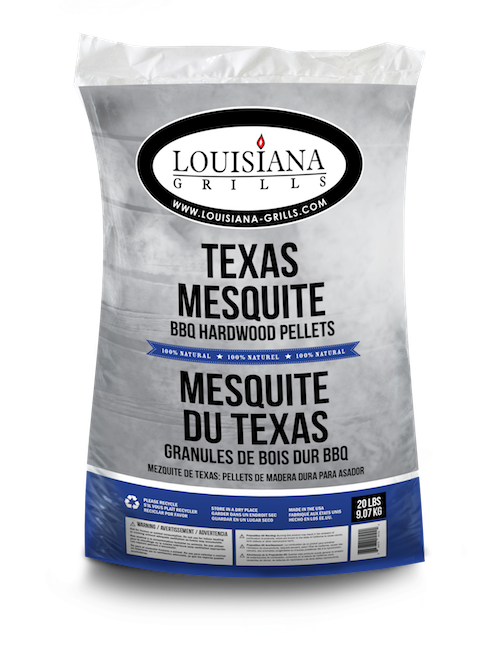 Louisiana Grills Pellets, 20lb, Texas Mesquite