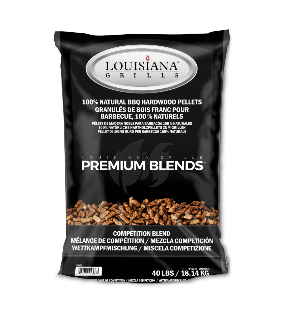 Louisiana Grills Pellets, 40lb, Competition Blend