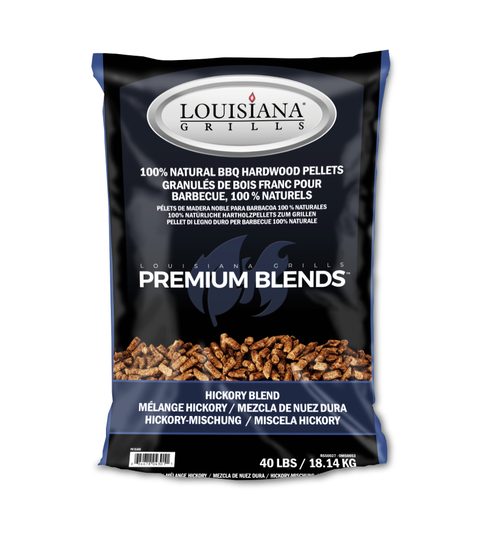 Louisiana Grills Pellets, 40lb, Wisconsin Hickory
