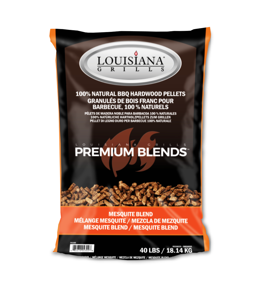 Louisiana Grills Pellets, 40lb, Texas Mesquite