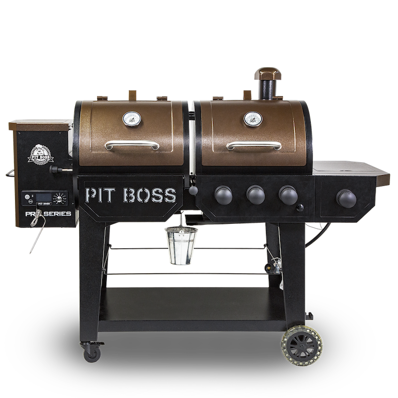 Pit Boss Pro Series 1100 Pellet and Gas combo