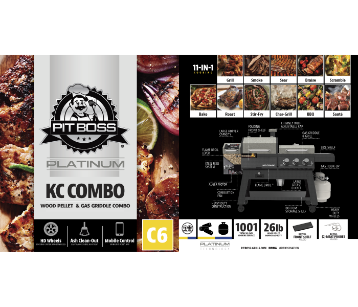 Pit Boss KC Combo Series 4-in-1