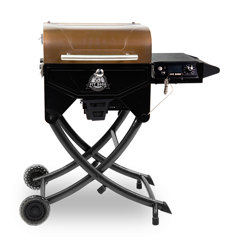 Pit Boss Portable Wood Pellet Grill (Copper Top)