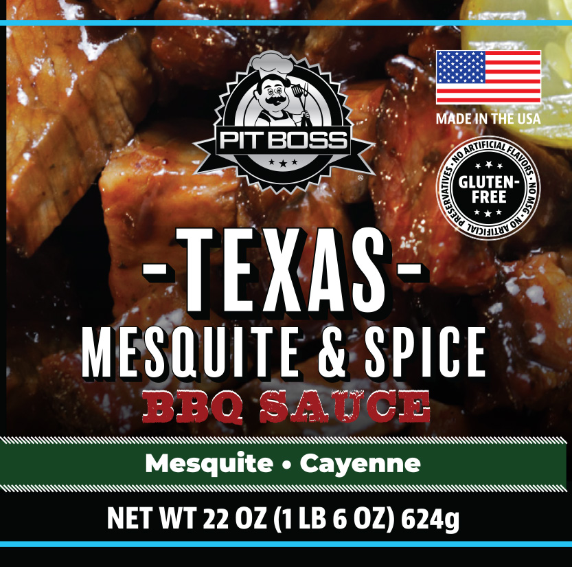 Pit Boss Texas Mesquite & Spicy BBQ Sauce