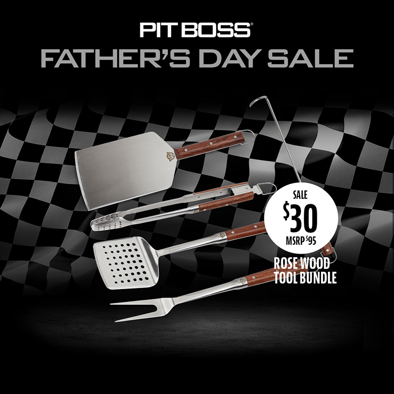 Pit Boss Father's Day Rosewood Bundle