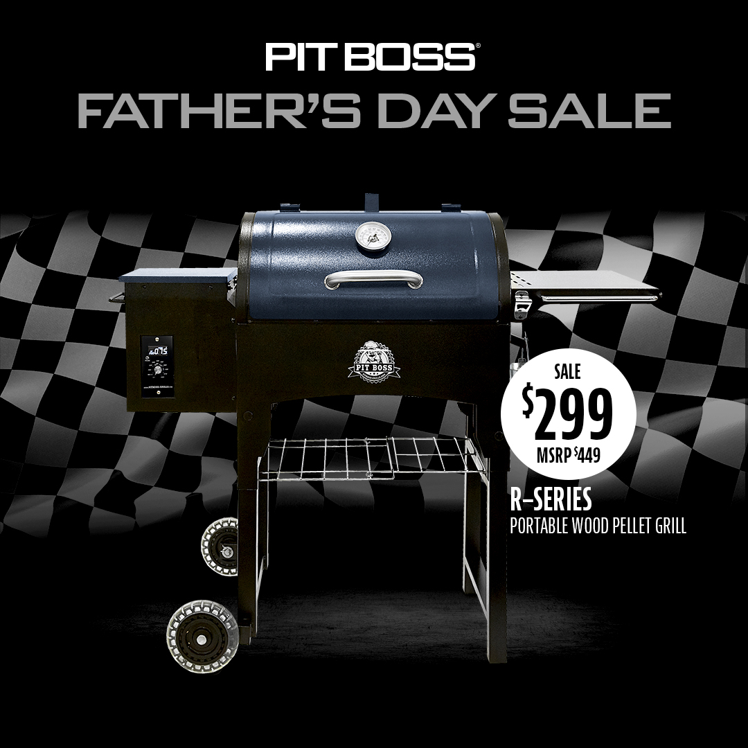 Pit Boss Father's Day R-Series Wood Pellet Grill