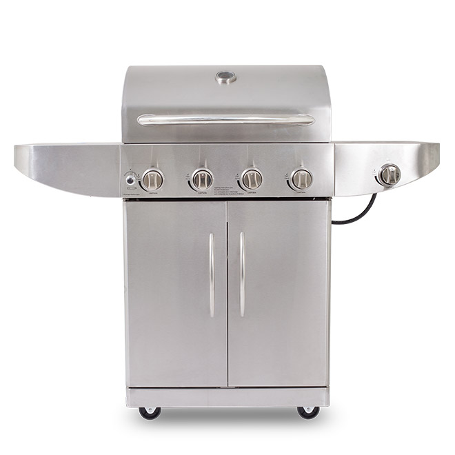 Pit Boss STAINLESS STEEL 4-BURNER GAS GRILL