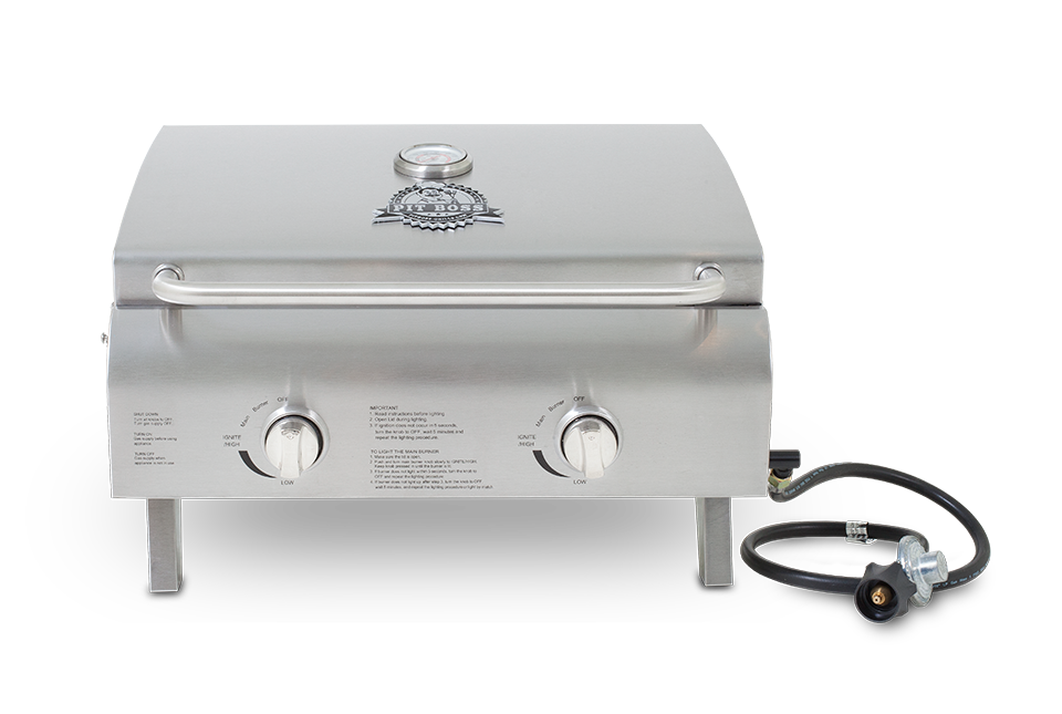 Pit Boss STAINLESS STEEL 2-BURNER GAS GRILL