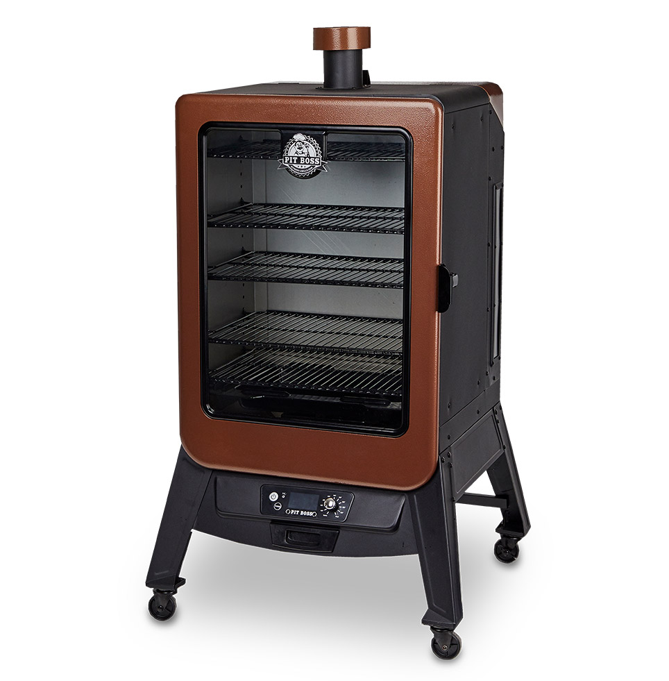 Pit Boss COPPERHEAD WOOD PELLET VERTICAL SMOKER