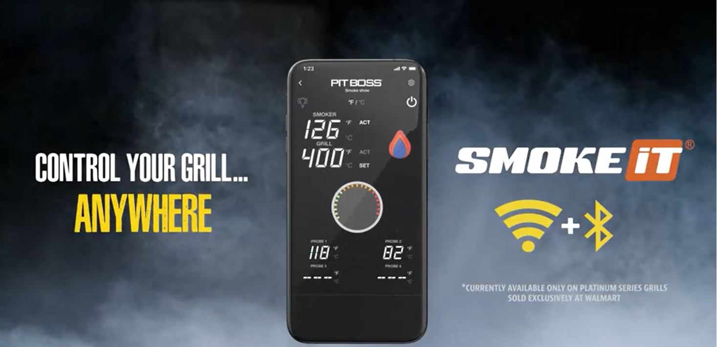 Pit Boss Legacy WiFi and Bluetooth® Connected Control Board (CAR-01-PG)