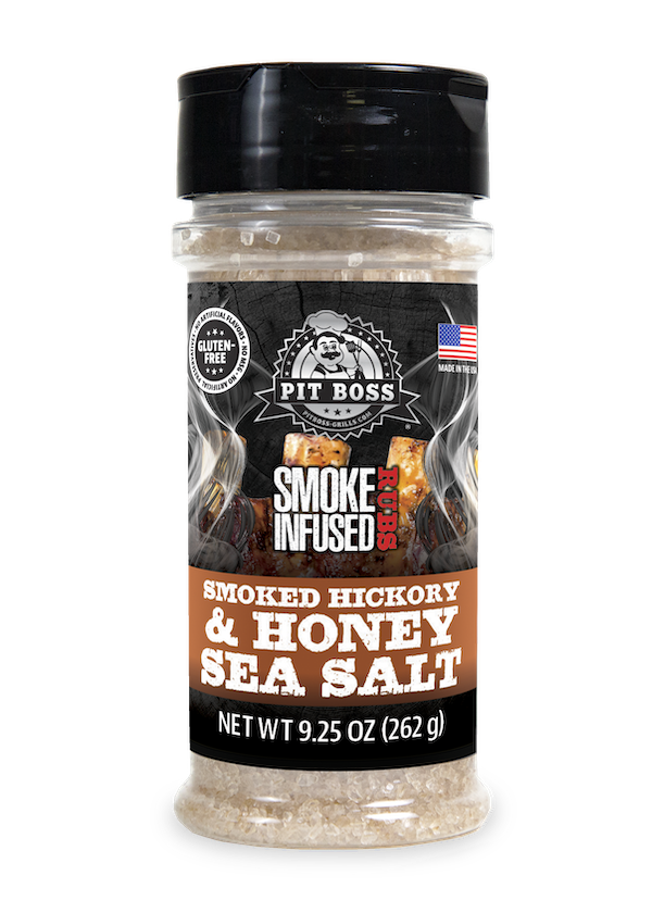 NEW -- Smoked Hickory Honey Sea Salt Smoke Infused 5oz