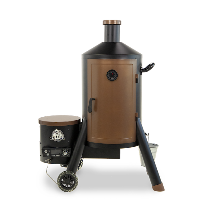 NEW! Pit Boss Whiskey Still Wood Pellet Vertical Smoker