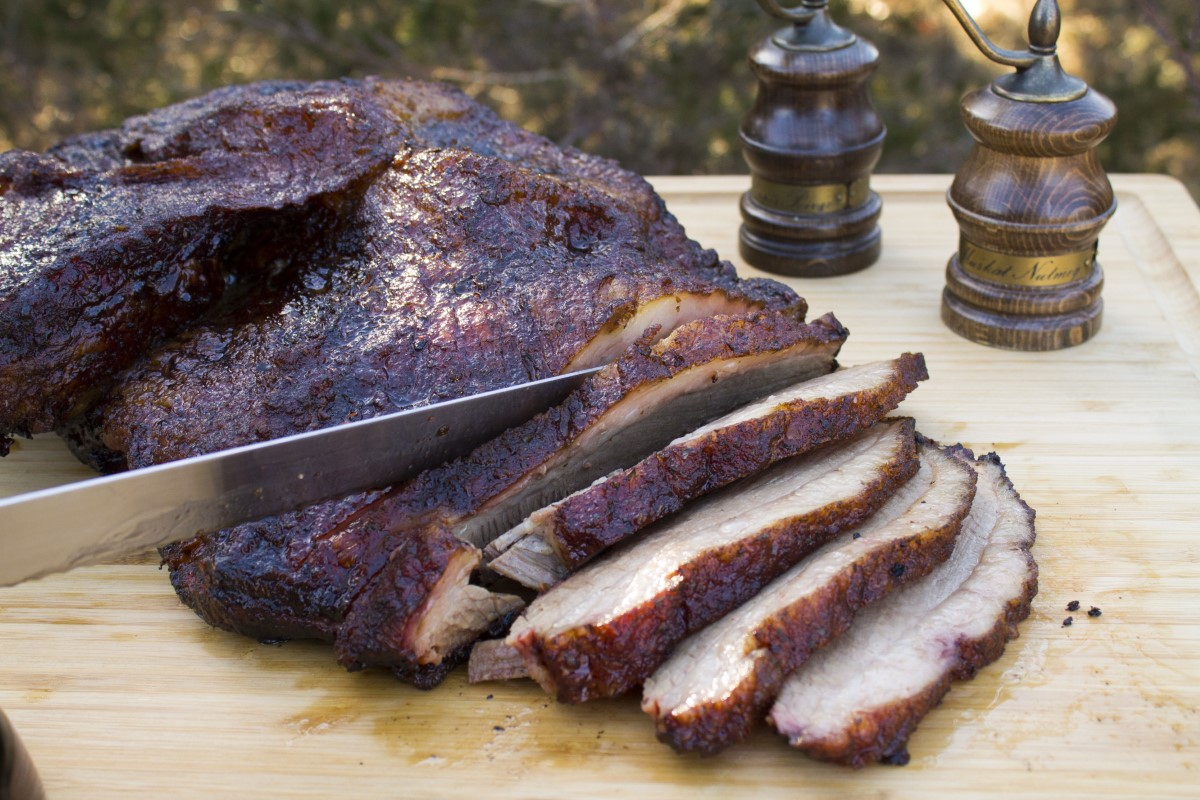 Easy Smoked Brisket On The Grill Louisiana Grills Recipes