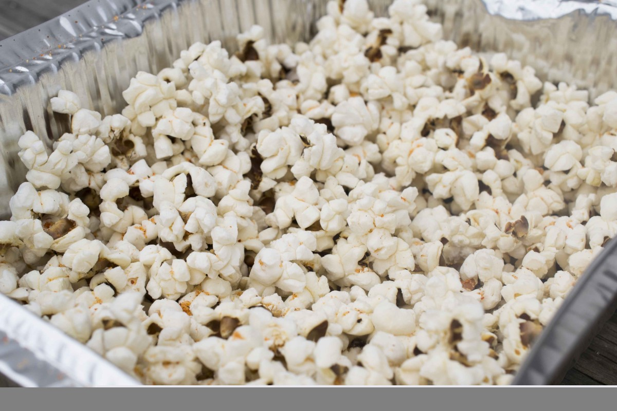 Barbecued Popcorn