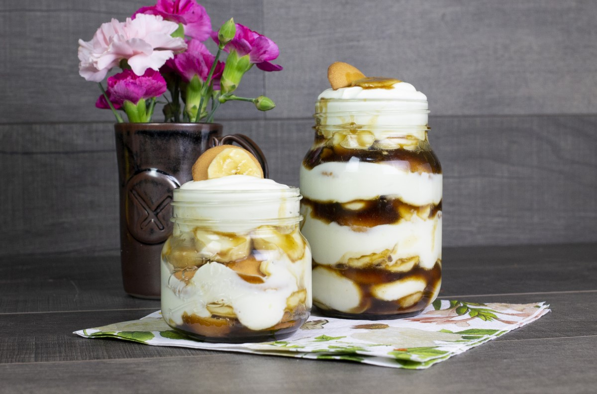 Smoked Banana Trifle